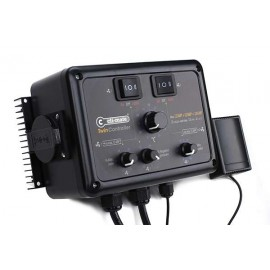 New Controlador Twin Controller vel.min,presion neg 4+4 Amp