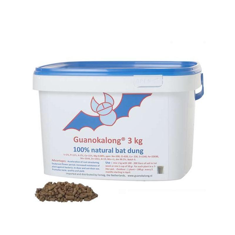 Guanokalong granulado 3kg