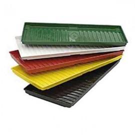 Bandeja para carry (126 cm x 56 cm) en PVC grís
