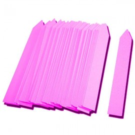 Etiqueta PVC 16x100mm rosa (500uds)