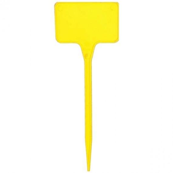 Etiqueta plastico amarillo 30cm (10uds)