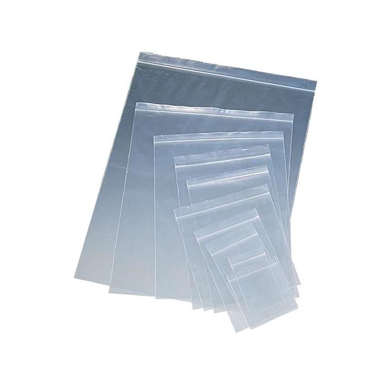 Bolsa cierre transparente 80x120x0,05mm  1/4L (100uds)