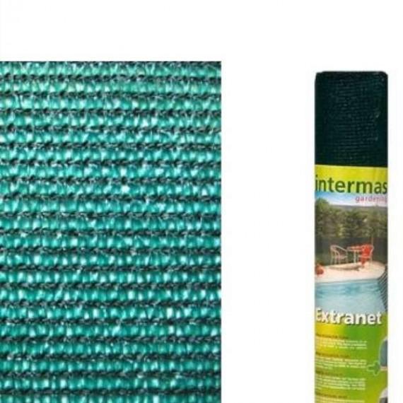 Malla de ocultacion verde Extranet (rollo 2x10mt)