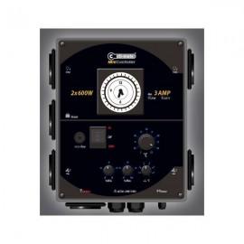 Temporizador de luz y calefaccion, controlador de histeriesis 4 Lamps+7Amp