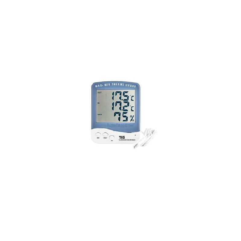 Termohigrometro MAX-MIN Con Sonda Cornwall